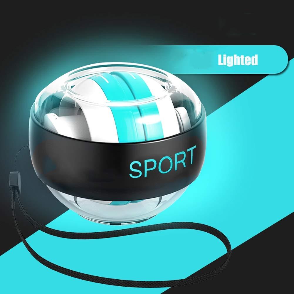 WMM Autostart Range Wrist Ball - Strengthening Gyroscopes - Wrist Strengthener (Color : Blue Light) by WMM - Wrist ball