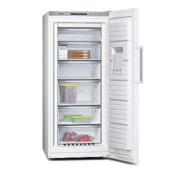 Gefrierschrank Richtig Einräumen siemens gs51naw40 gefrierschrank a gefrieren 286 l weiß