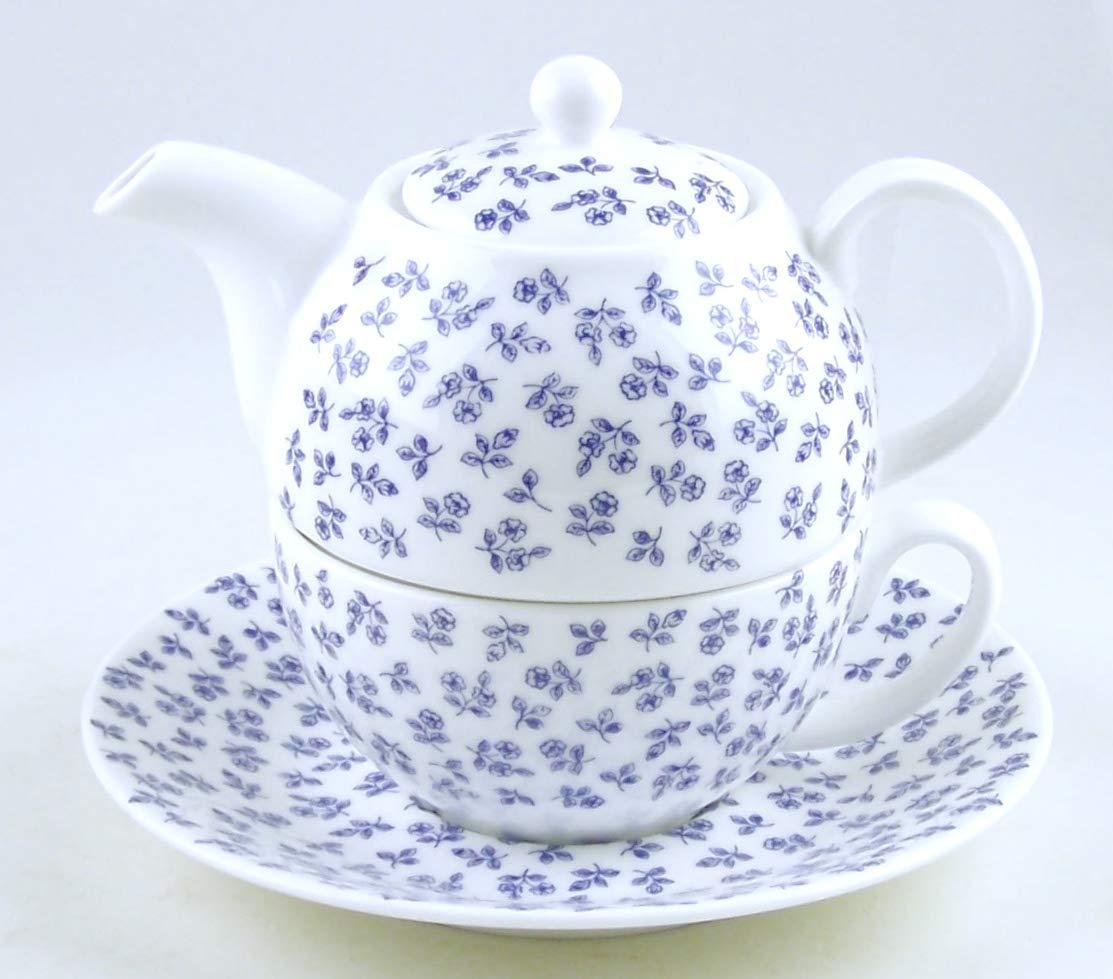 Juego de tetera y taza de porcelana china fina inglesa para uno ...