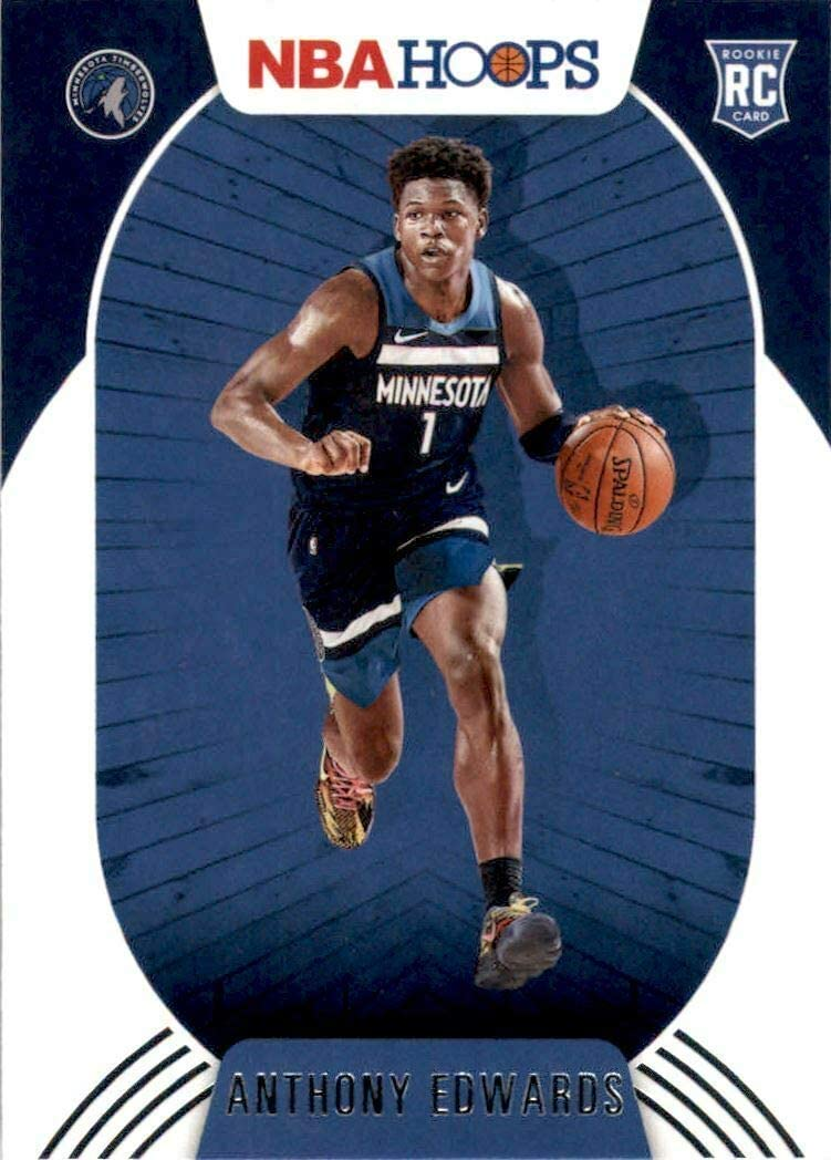 Minnesota Timberwolves 2020 2021 Hoops Factory Sealed Team Set with a Rookie card of Anthony Edwards