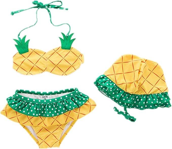Amazon.com: Amberetech - Conjunto de 3 piezas de bikini para ...
