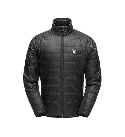Amazon.com  Spyder Men s Glissade Full Zip Insulated Jacket for ... 2226eeea3