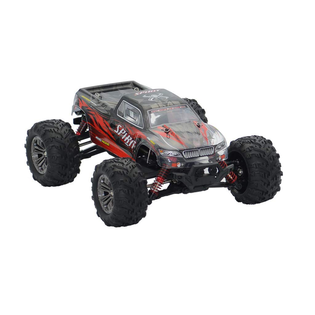RC Cars for Kids/Adults Fast, Q901 Brushless 2.4G 1:16 4WD 52km/h High-Speed Off-Road Monster Truck RC Car RTR (Red) by Kids Toys by Goodtrade8 (Image #4)