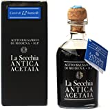 Balsamic Vinegar from Modena Aged in 12 Barrels I.G.P. Certfied by La Secchia 250ml - Italian Gourmet Del