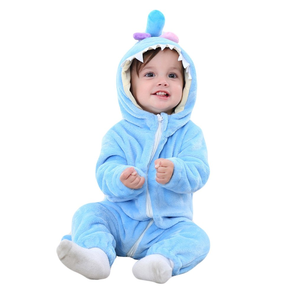 652b3ec6b Amazon.com  Sunshine-G Baby Pajamas Cosplay Costume Kids Kigurumi ...