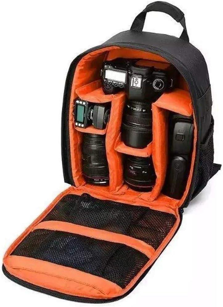 Waterproof Camera Bag Large Capacity Professional Travel Hiking Photography Camera Bag Unisex Color : Green WD SLD Backpack Camera Bag
