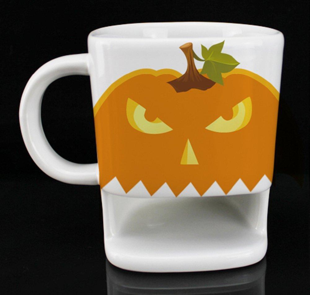 OliaDesign Pumpkin Cookie Mug, White