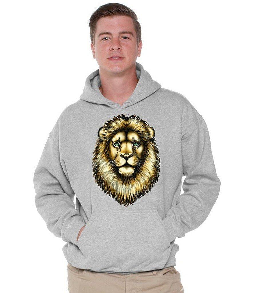 Awkwardstyles Lion Hoodie Gift for Animal Lover Hooded Sweatshirt Bookmark