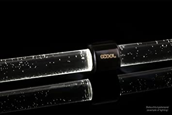 Alphacool 15284 Aurora HardTube LED Ring 13mm deep Black White Modding LEDs