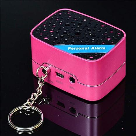 Amazon.com: Sirena de alarma personal – 130Db seguro alarma ...