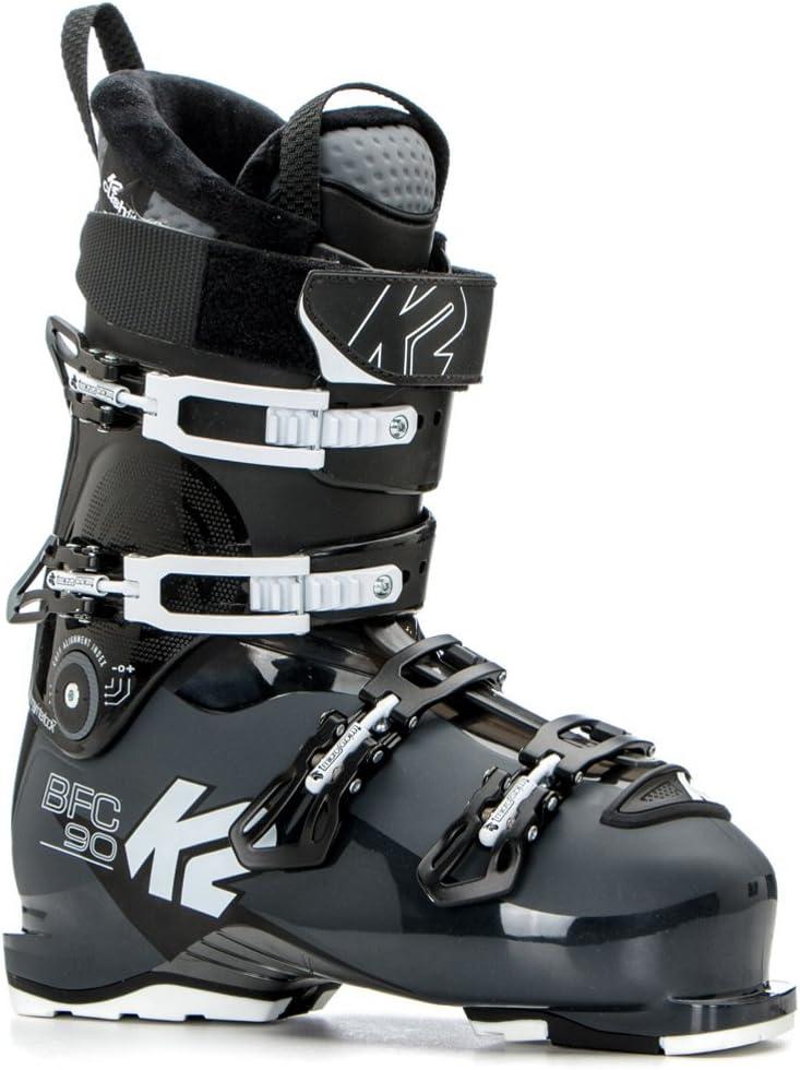 K2 B.Cat6。 90スキーブーツ。 Dark Gray-白い