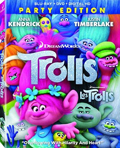 Trolls (Bilingual) [Blu-ray + DVD + Digital Copy]