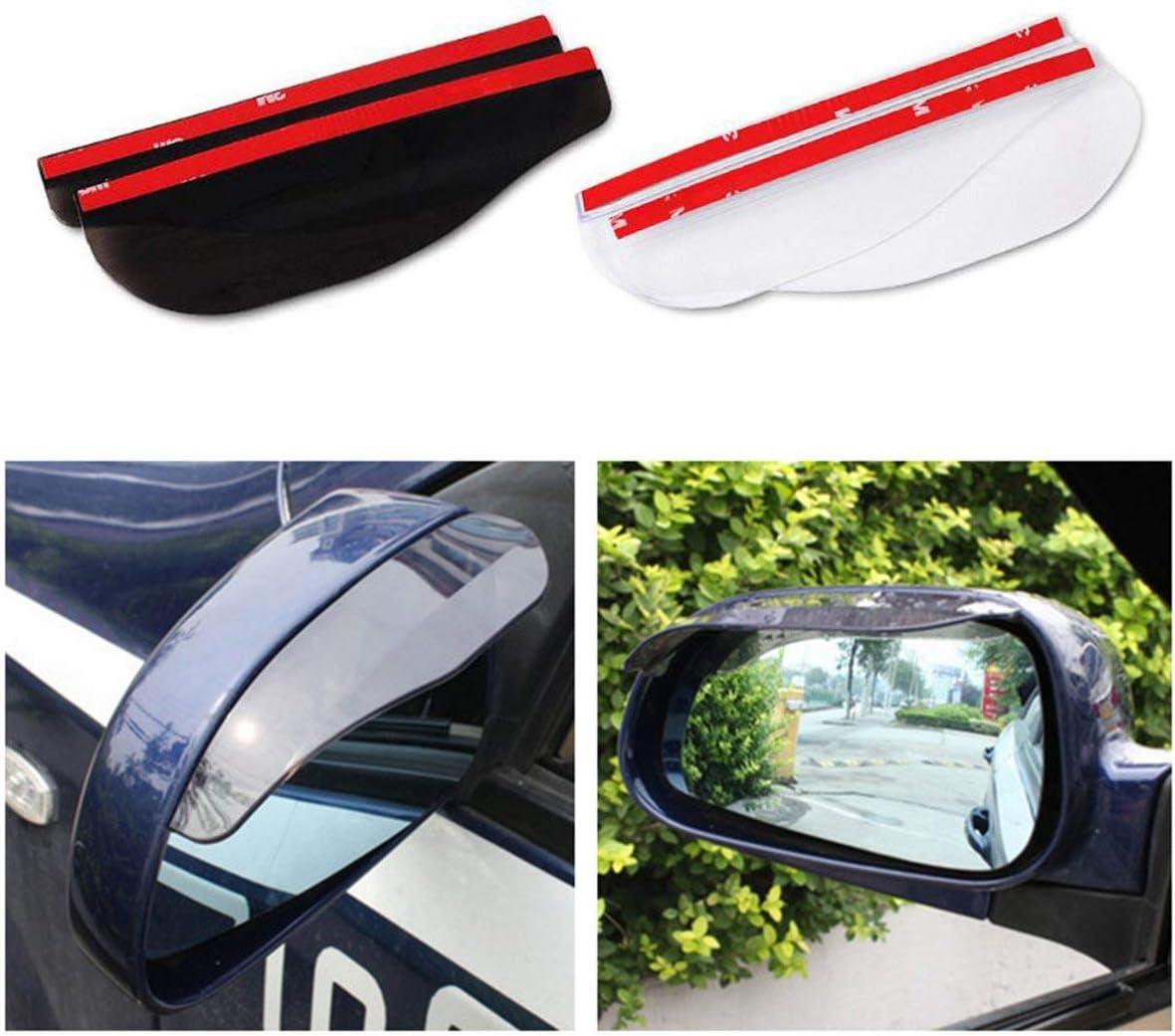 Regendicht Blades PVC-Spiegel-Auto-R/ückspiegel-Augenbraue-Regen-Abdeckung 13-2B Zubeh/ör