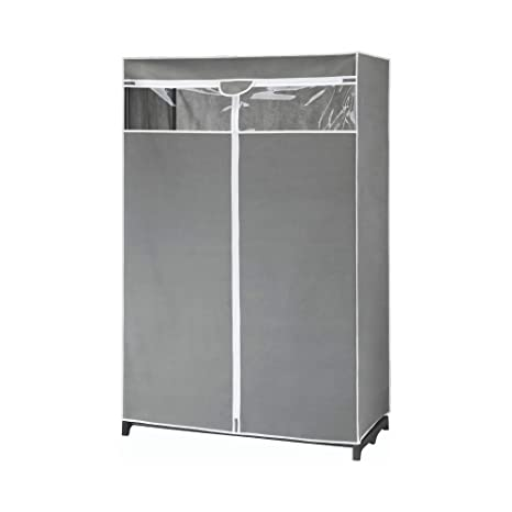 Amazon.com: Type A Garment Rack & Clear Cover | Closet ...