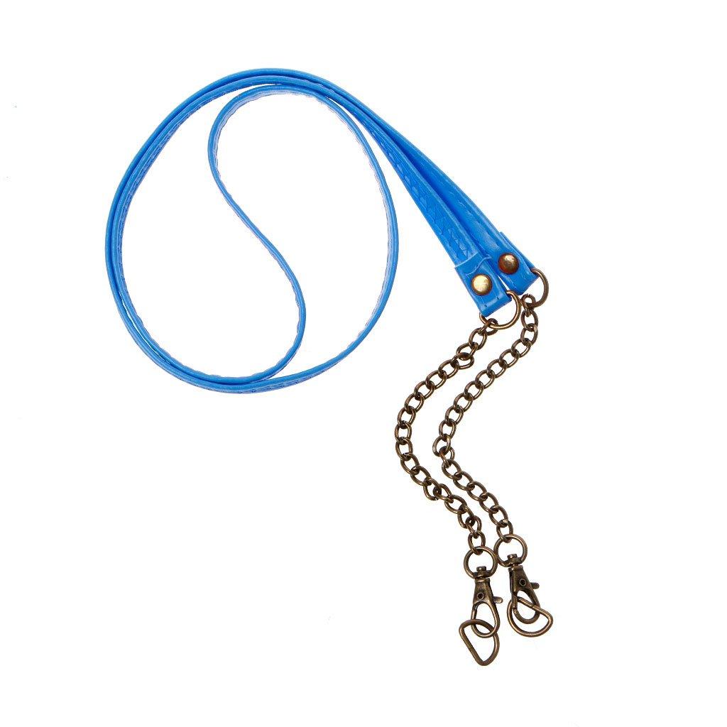 Manyo 1 Stück Mode DIY Taschenkette, 120cm, 8 Farben zur Auswahl, Ideal für Schultergurt Cross Body & Handtasche & Geldbörse. (Beige)