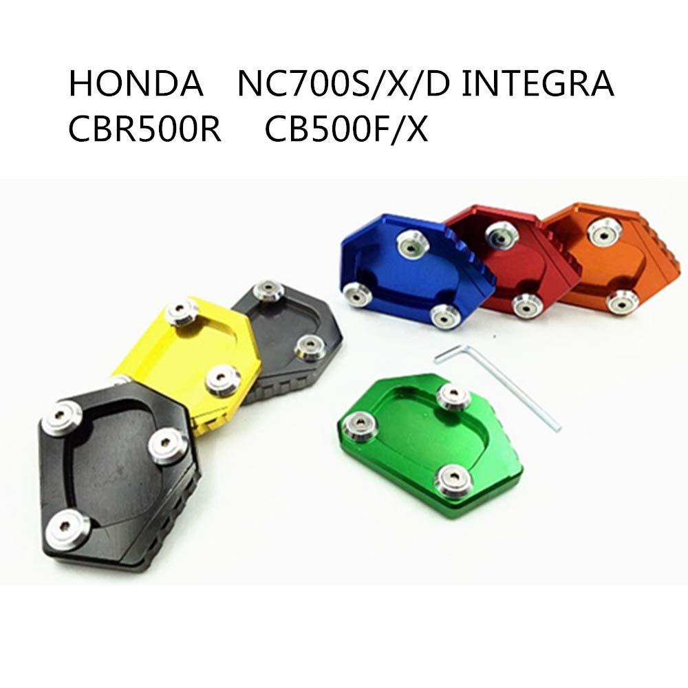 Yiwa Supporto Laterale per Honda NC700S//X//D Integra CBR500R CB500F//X