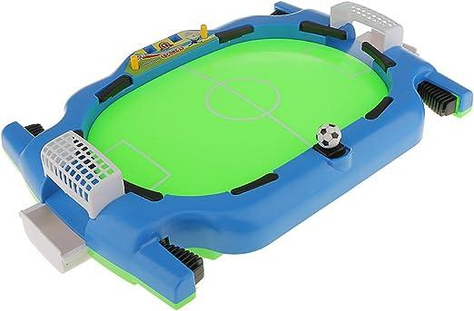 Juego de Mesa Mini Partido de Fútbol Dos Jugadores con Escritorio Portátil Ligero Niños Familia: Amazon.es: Juguetes y juegos