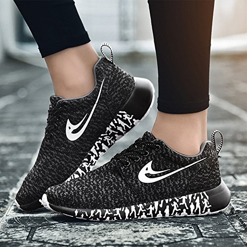 Shoes Cool Athletic Breathable Black Sneakers Sport Fashion Casual Lightweight Women amp;LV LIN f1Wq8vt