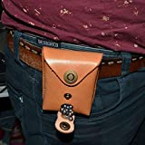 CyberDyer Genuine Leather Magnet Ammo Pouch for