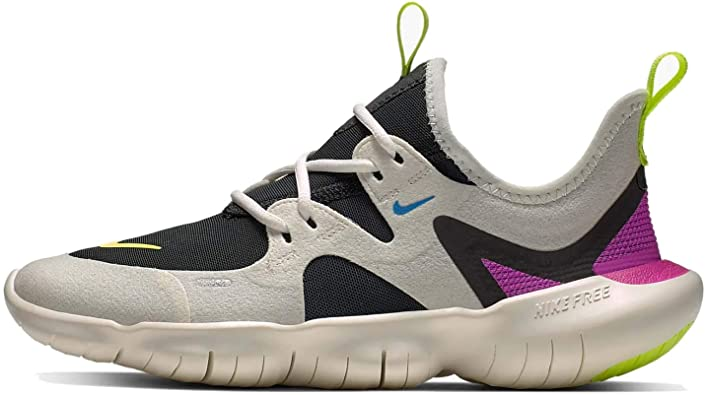 Amazon Com Nike Free Rn 5 0 Gs Girls Athletic Sneaker Shoes Ar4143 100 5 5 Big Kid Running