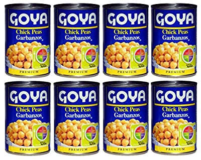Garbanzos Canned 8 Cans Pack
