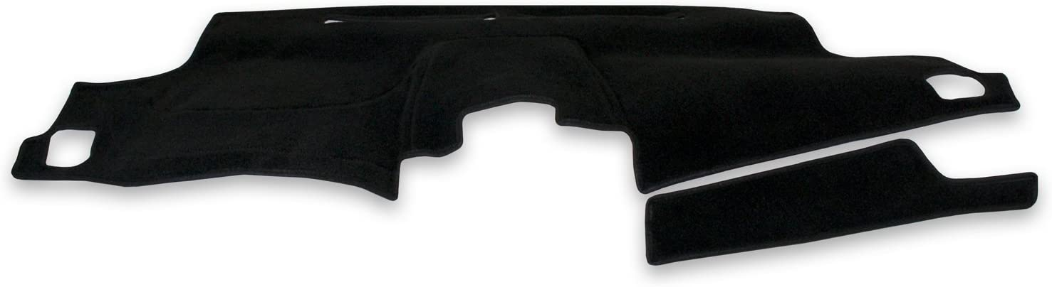 Coverking Custom Fit Dashcovers for Select GMC Acadia Models - Poly Carpet (Black)
