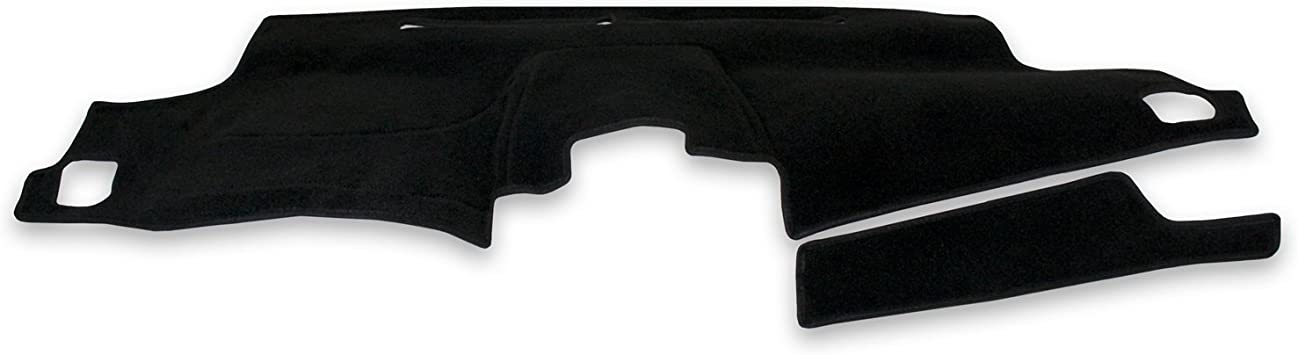 Coverking Custom Fit Dashboard Cover for Select GMC Sierra Models Black Suede