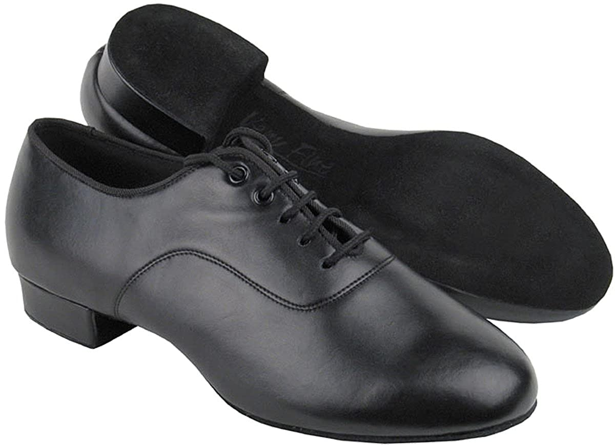 [Very Fine Shoes] メンズ B009Y63QP2 Black Leather 9.5 (B,M) US