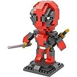 Deadpool Marvel's super-héros_Loz NanoBlocks Micro Diamant DIY Jouet Educatif