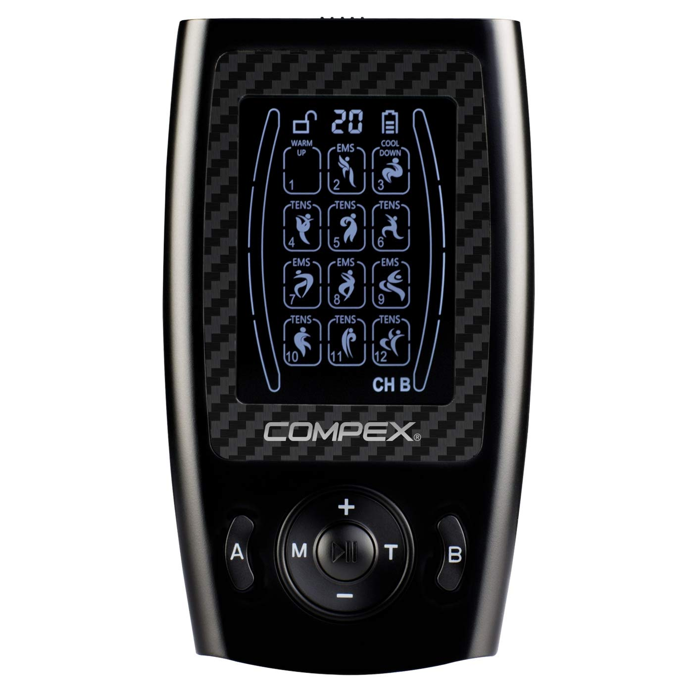 COMPEX LT TENS Unit Portable Rechargeable Handheld Pain Relief & Pain Management Therapy Device by Compex