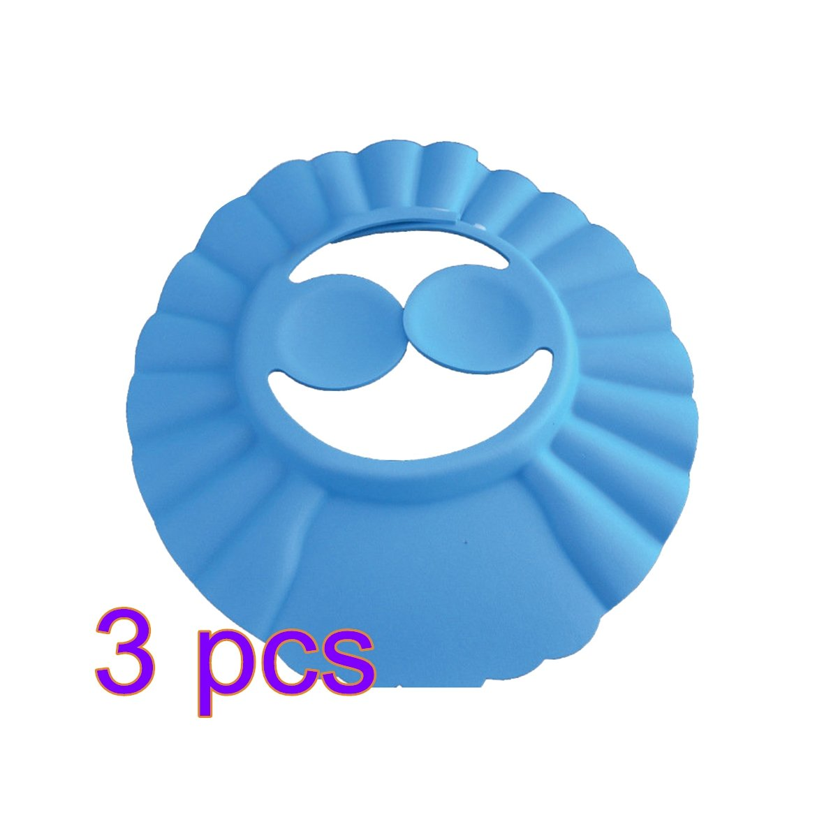 OUNONA Gorro de Ducha/ Baño para Bebé Gorro Protector para Lavar el Cabello de Niño Protección para los Oídos