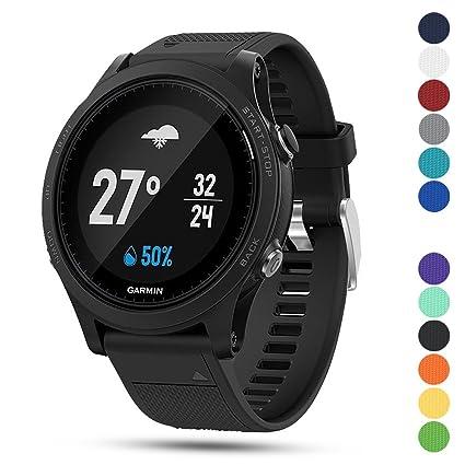 Garmin Sports Watch >> Amazon Com Feskio Garmin Forerunner 935 Gps Accessory Watch Band