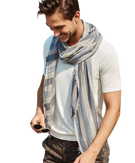 0b53ae5843a Hilltop Products Écharpe homme foulard de marque de haute qualité ...