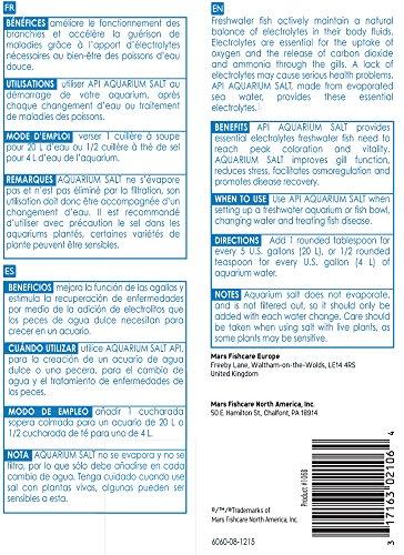 Product image of API AQUARIUM SALT Freshwater Aquarium Salt 33-Ounce Box