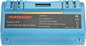 PowerGiant 14.4V 3600mAh NiMh Replacement Battery for iRobot Scooba 5900 5800 6000 330 350 380 APS Battery