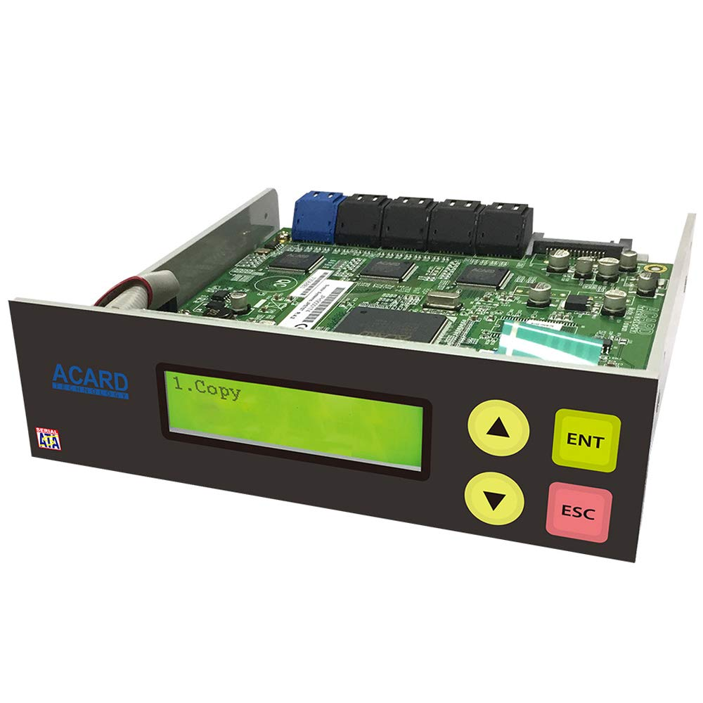 Acard 1 to 9 Controller for DVD/CD Disc Copy Duplicator + sata Cables