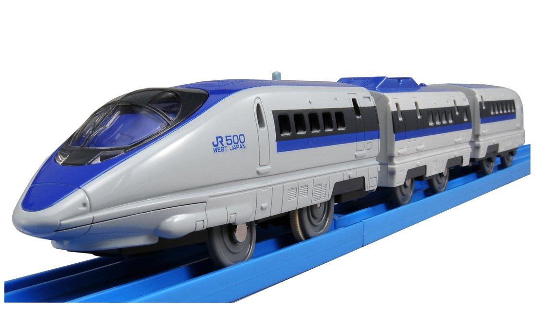 TOMY 500 Series Shinkansen with Plarail S-02 Light