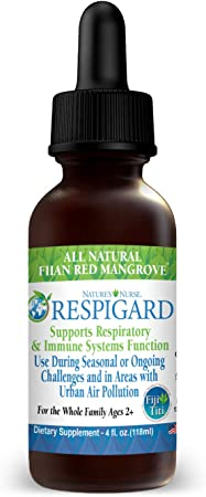 Respigard Respiratory and Immune Support, Lung Cleanse and Detox Supplement, Herbal Formula for Clear Lungs and Bronchial Wellness, Natural Lung Health and Immune Defense Booster (4 Fl Oz)