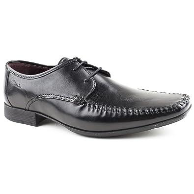 Mens Clarks Ferro Walk Black Lace up Shoes Size 12  Amazon.co.uk ... 449fc5dd6b5c