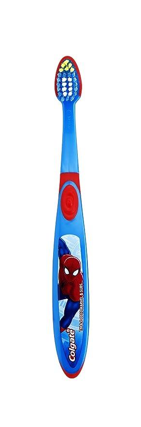 Colgate Kids Spiderman cepillo de dientes: Amazon.es: Salud y cuidado personal