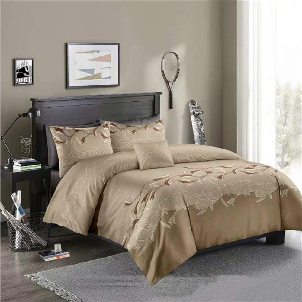 SSHHJ King Queen Bedding Set Luxury Bed Set Cotton Bedding Bed Set F 260x230cm