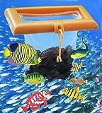 Aqurium Meshed Feed Flexible Fish Feeding Net Tropical