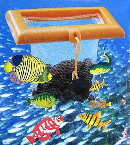 Aqurium Meshed Feed Flexible Fish Feeding Net Tropical by Aquarium Supplies