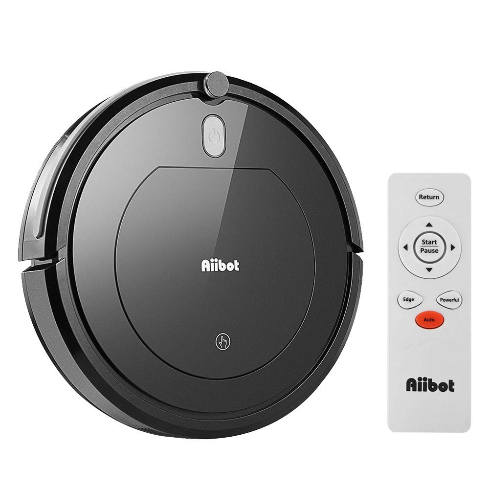 Amazon.com: COLOR-LILIJ Aiibot Convenient Smart Vacuum Cleaner Lightweight Intelligent Sweeping Robot Three Cleaning Modes-Low Noise (Black): Sports & ...