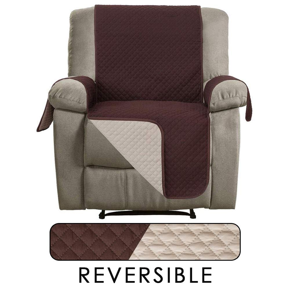 Cool Details About Cubiertas Reversible De Sillon Funda Protector Para Sofa Reclinable Cubrir Sofas Machost Co Dining Chair Design Ideas Machostcouk