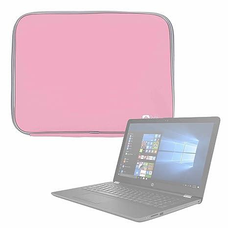 DURAGADGET Funda De Neopreno Rosa para Portátil HP Notebook 15-bs127ns - Resistente Al Agua