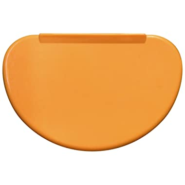 Flexible Bowl Scraper Contoured Profile - 1 Piece   For Shaping Dough   Conforms To Any Mixing Bowl