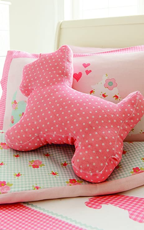 Catherine Lansfield - Cojín con forma de perro, color rosa ...