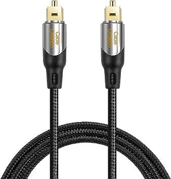Premium 50FT Digital Toslink Audio Optic Cable Optical Fiber S//PDIF Cord Wire