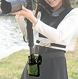 撮影 に超便利 カメラ 一脚 ホルダー 腰ベルト / 場所がなくても しっかりカメラを固定 / 撮影会 運動会 スポーツ フェス 旅行